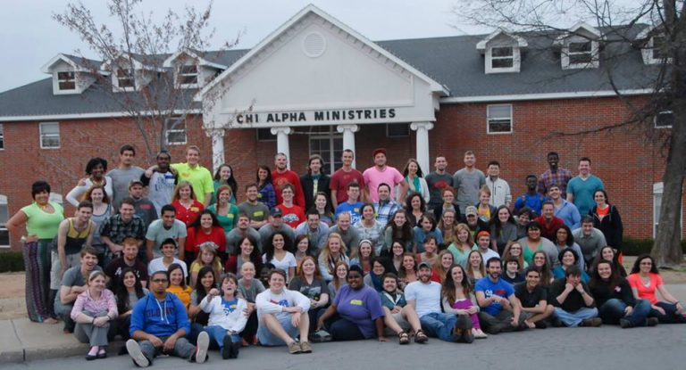 Chi Alpha Group Photo